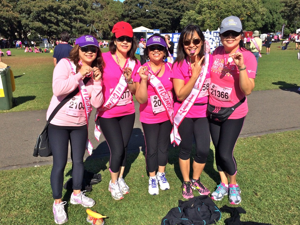 Journeying together: Team Breast Warriors